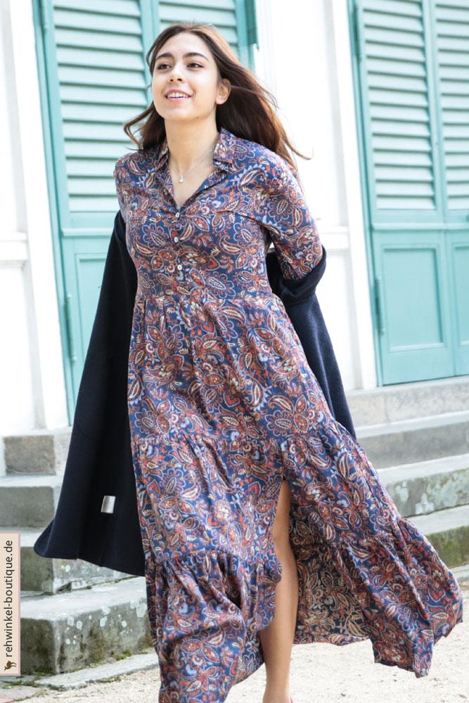 Elegantes Kleid aus Viskose